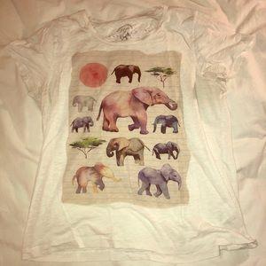 J Crew elephants tee - for a good cause!